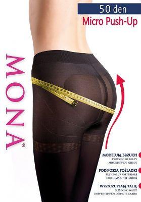 Колготки Mona Micro Push-Up 50 den 5-XL