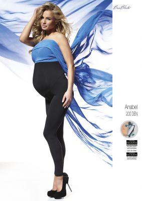 Леггинсы Bas Bleu Anabel ciążowe 200 den Polar S-2XL
