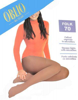 Колготки Oblio Folk 70 den 2-4