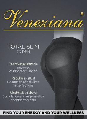 Колготки Veneziana Total Slim 70 den 2-4