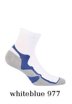 Укороченные носки Wola W94.1N4 Ag+