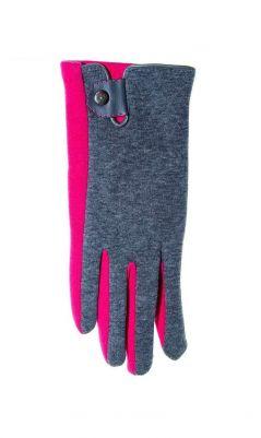 Перчатки YO! R-039 z Zapinką damskie