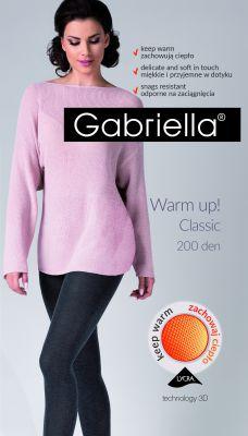 Колготки Gabriella Warm Up! 3D 409 200 den 2-4