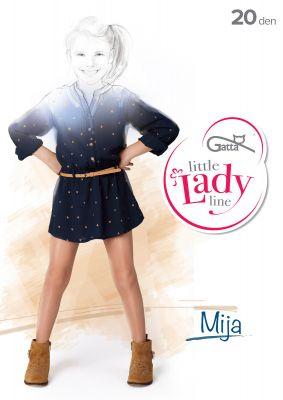 Колготки Gatta Little Lady Mija 20 den 116-158