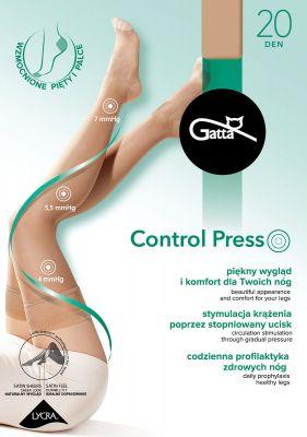 Чулки Gatta Control Press 20 den 1-4