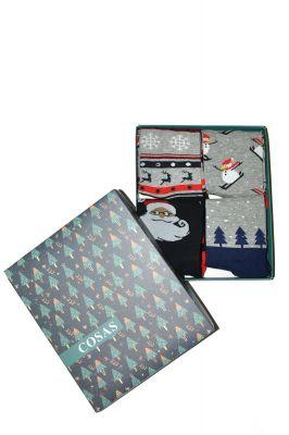 Носки Cosas DB-601 Christmas Socks A'4 39-46
