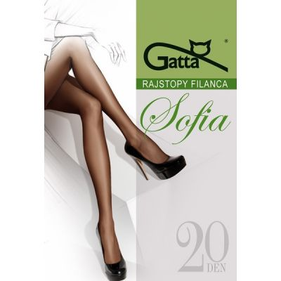 Колготки Gatta Sofia 20 den 5-XL, 3-Max
