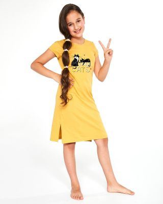 Сорочка Cornette Kids Girl 493/90 Cats 2 kr/r 86-128