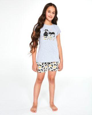 Пижама Cornette Kids Girl 787/87 Cats kr/r 86-128