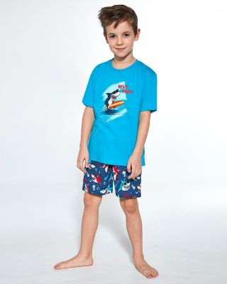 Пижама Cornette Kids Boy 789/90 Shark kr/r 86-128