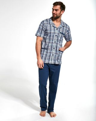 Пижама Cornette 318/41 3-5XL Rozpinana