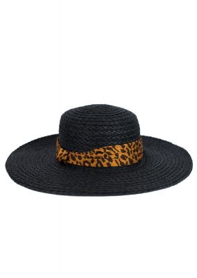 Шляпа Art Of Polo 20123 Czarna Mamba