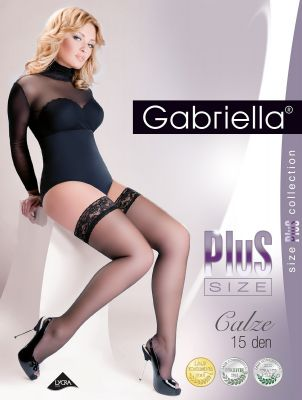 Чулки Gabriella Plus Size 164 7-8 15 den