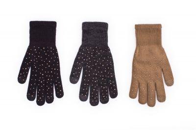 Перчатки Rak R-189 ze Złotymi cyrkoniami dziewczęce